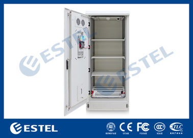 Four Shelf Outdoor Battery Cabinet With Cooling